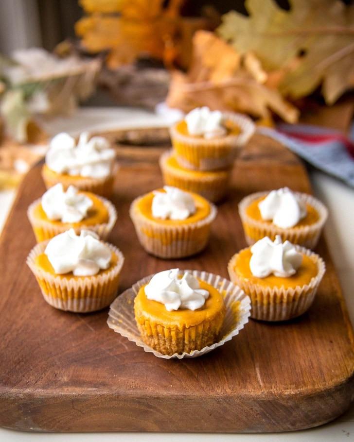 Pumpkin Cheese Cake Bites  Pumpkin Cheesecake Bites