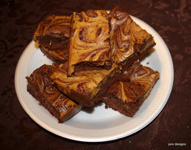 Pumpkin Cheese Cake Brownies  That s My Story Pumpkin Cheesecake Brownies