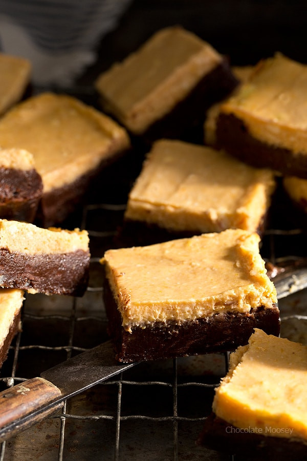 Pumpkin Cheese Cake Brownies  Pumpkin Cheesecake Brownies Homemade In The Kitchen