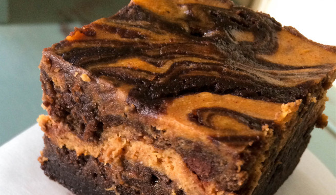 Pumpkin Cheese Cake Brownies  Pumpkin Cheesecake Brownies Recipe