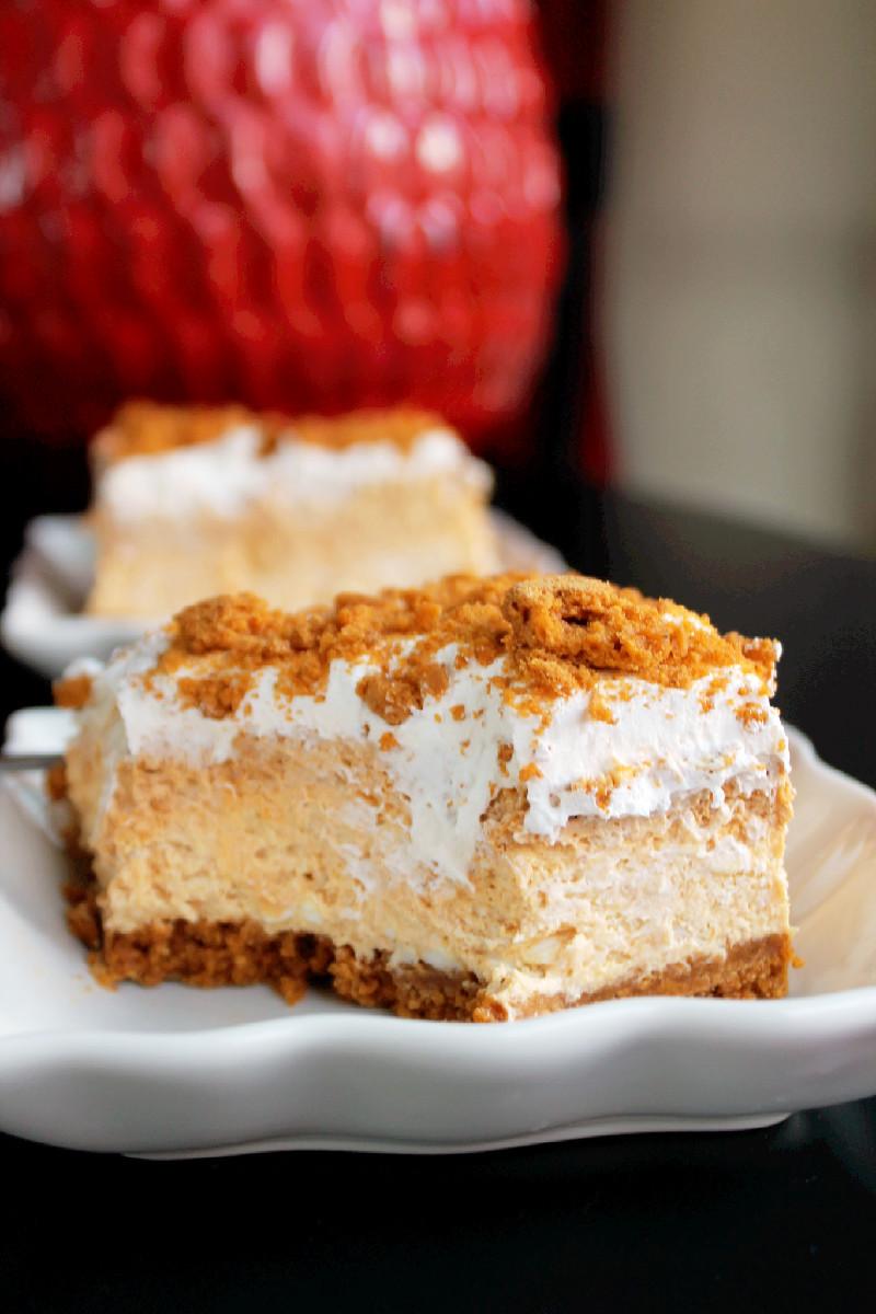 Pumpkin Cheesecake Lasagna  No Bake Pumpkin Cheesecake Lasagna Creole Contessa
