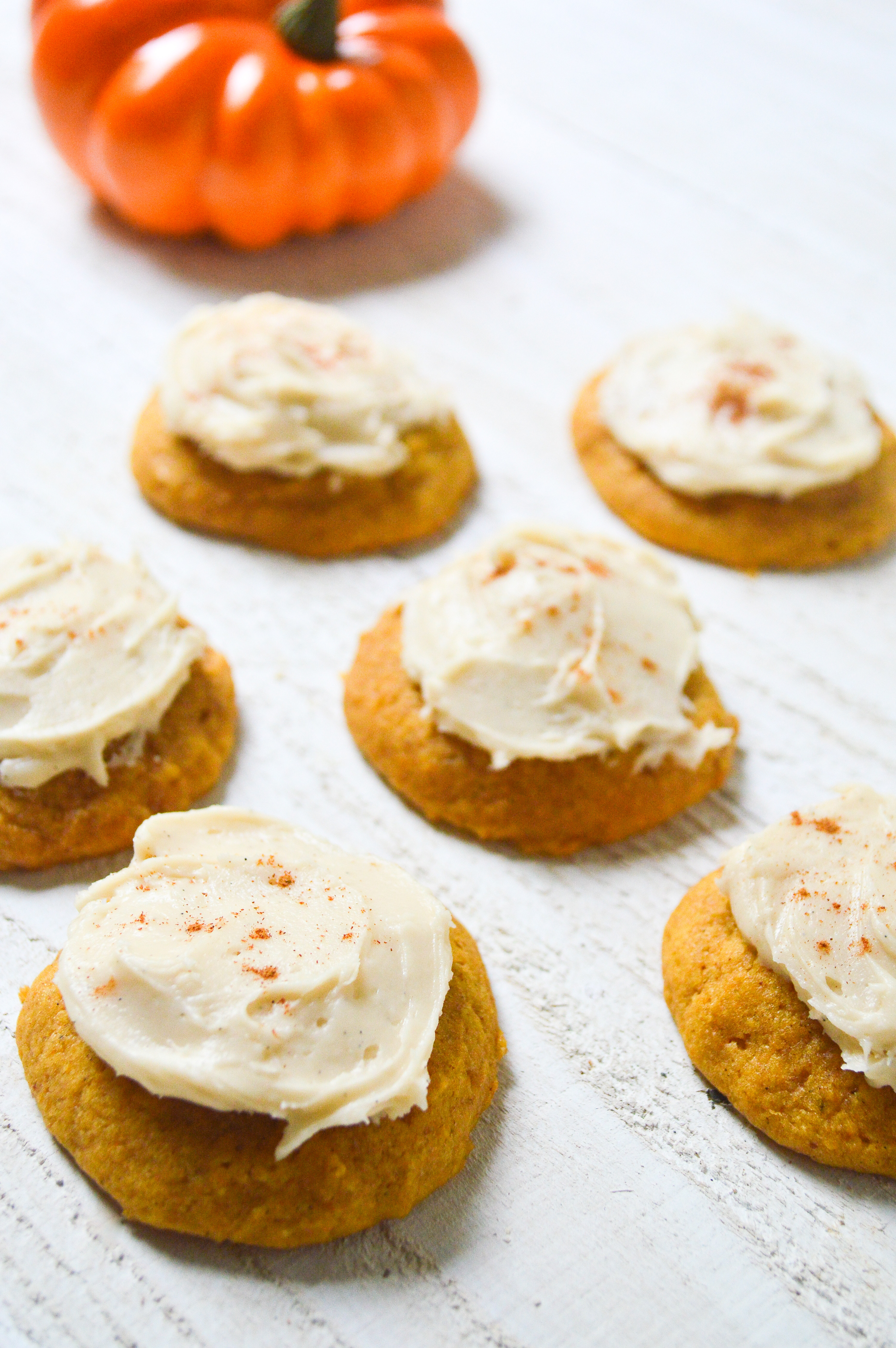 Pumpkin Cookies Recipe  Pumpkin Cookies with Buttercream Frosting The Lemon Press