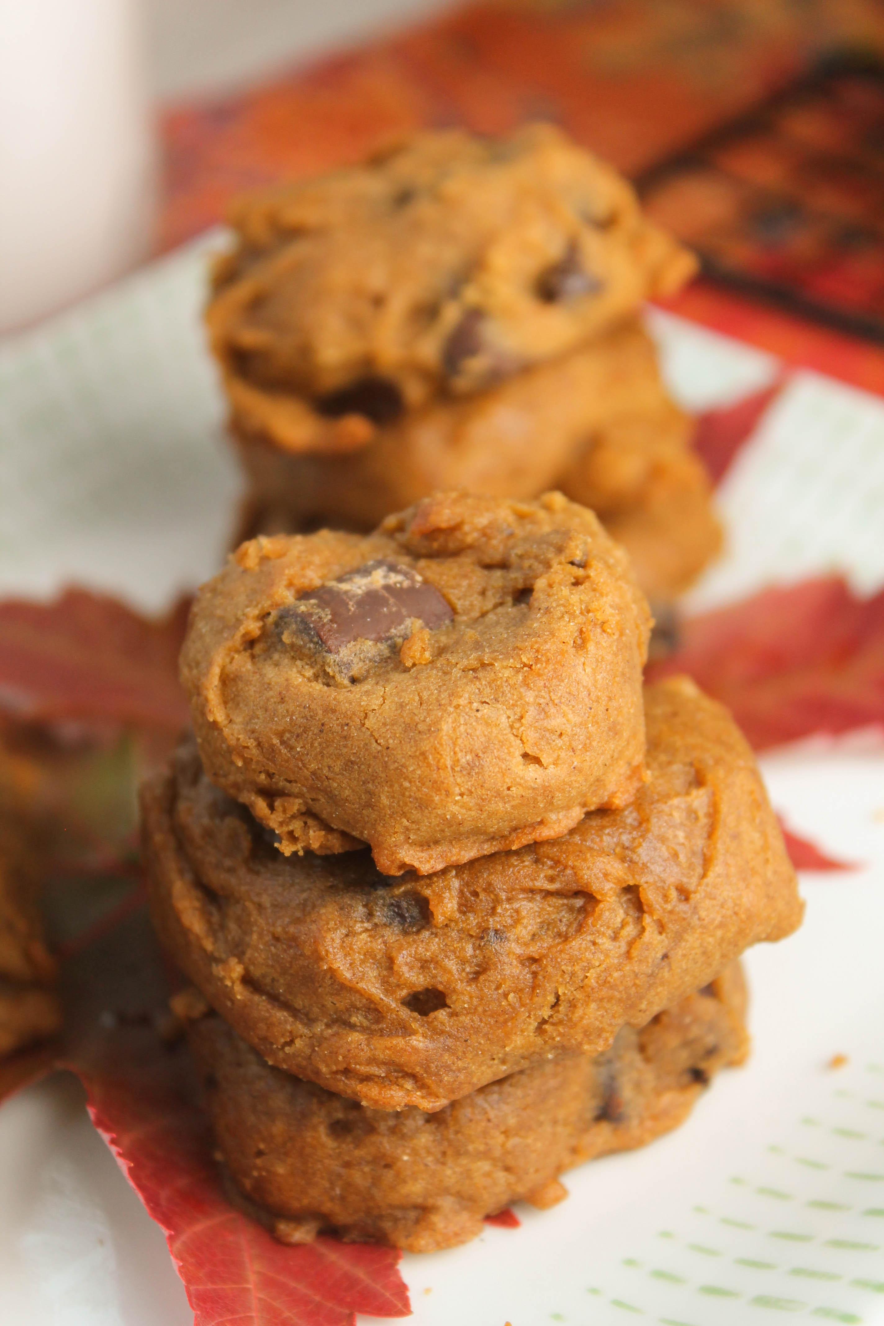 Pumpkin Cookies Recipe  Soft Pumpkin Cookies – Gluten Free & Vegan