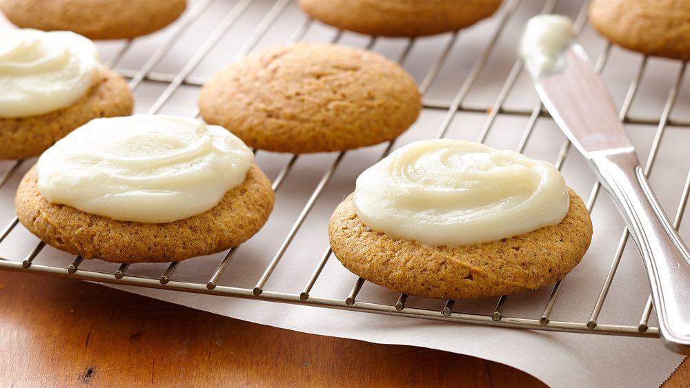 Pumpkin Cookies Recipe  5 Ingre nt Pumpkin Cookies recipe from Pillsbury
