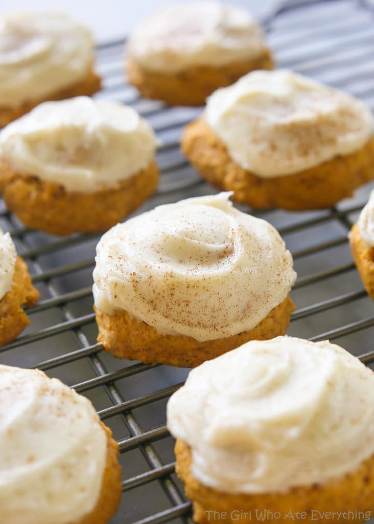 Pumpkin Cookies Recipe  Melt in Your Mouth Pumpkin Cookies The Girl Who Ate