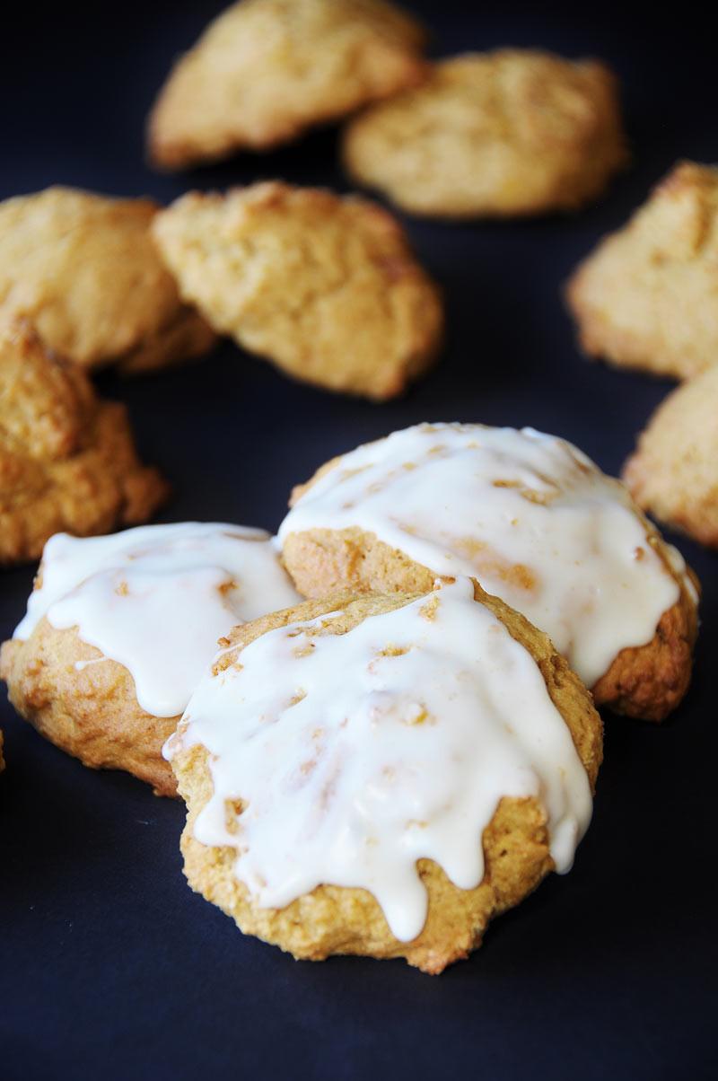 Pumpkin Cookies Recipe  Vegan Pumpkin Spice Cookies Egg and Dairy Free Veganosity