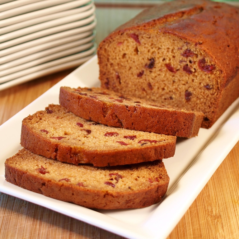 Pumpkin Cranberry Bread  Pumpkin Cranberry Bread