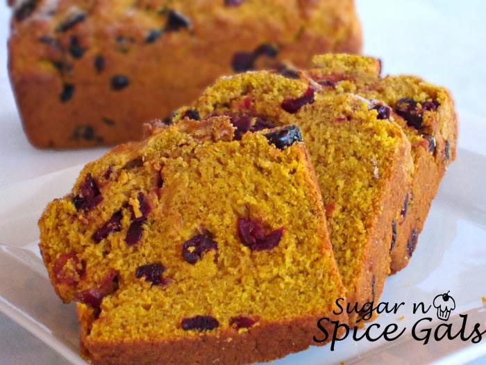 Pumpkin Cranberry Bread  Mini Pumpkin Cranberry Bread Sugar n Spice Gals