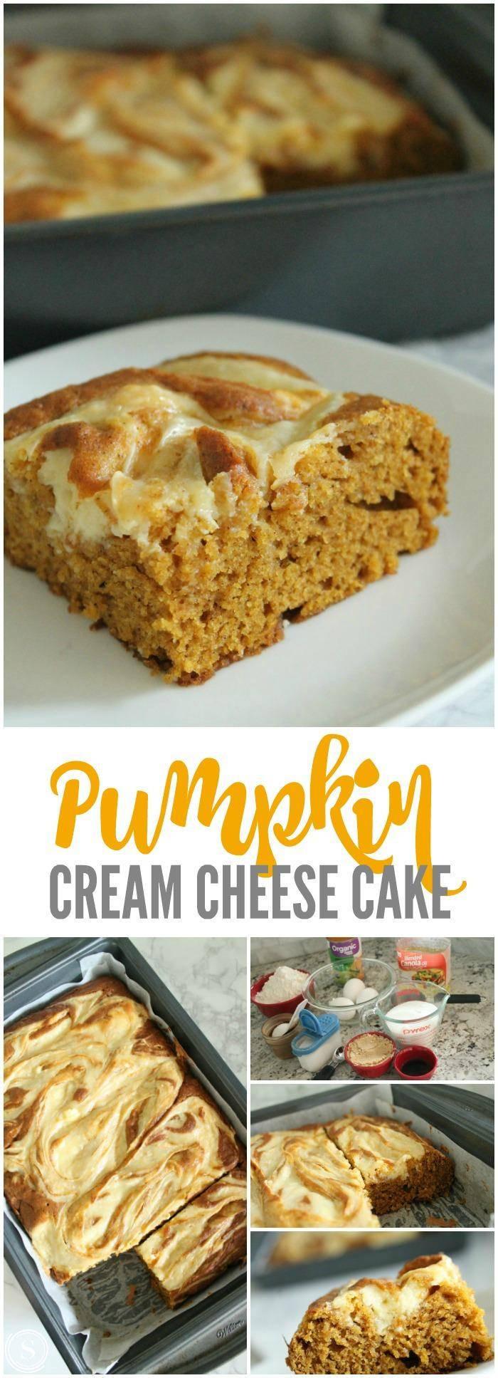 Pumpkin Cream Cheese Dessert  Pumpkin Cream Cheese Cake Recipe Passion for Savings
