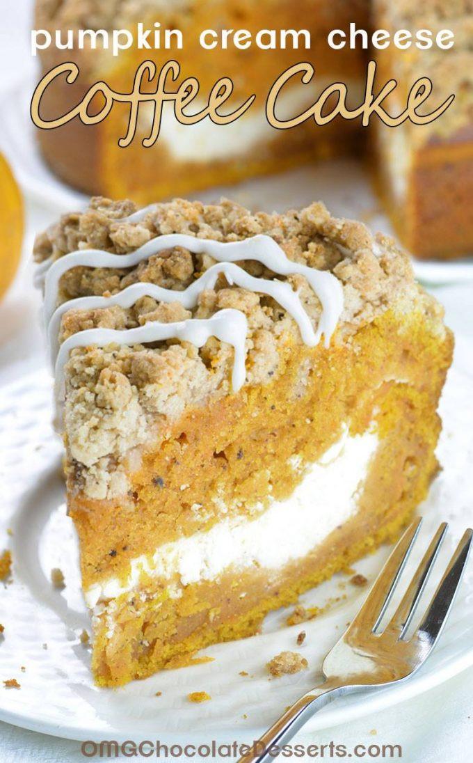 Pumpkin Cream Cheese Dessert  30 of the BEST Fall Dessert Recipes Kitchen Fun With My