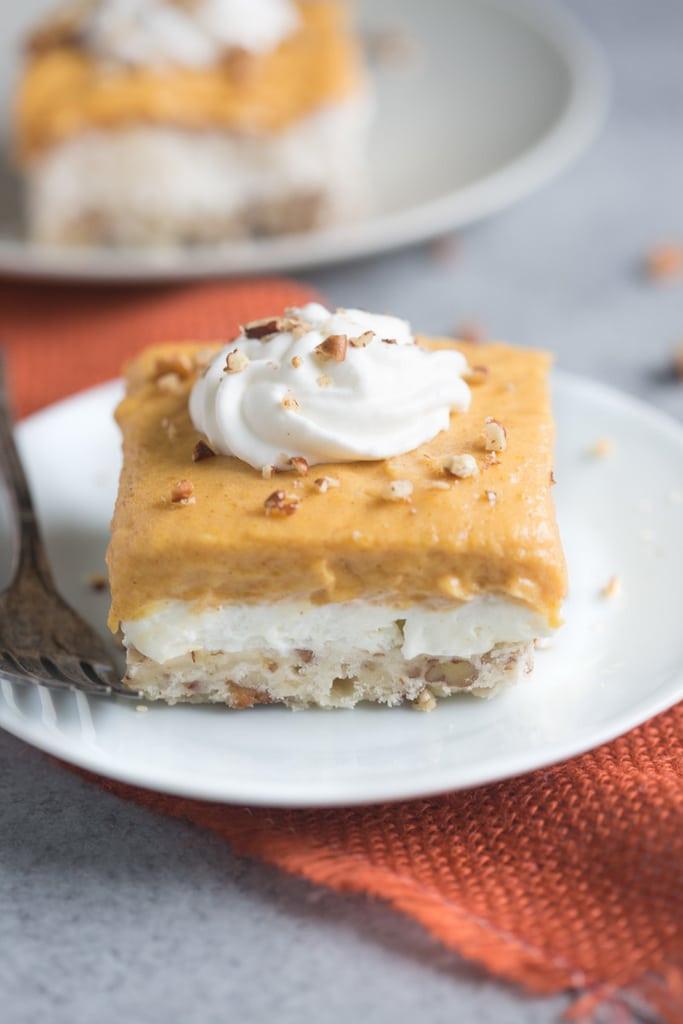 Pumpkin Cream Cheese Dessert  pumpkin layered dessert