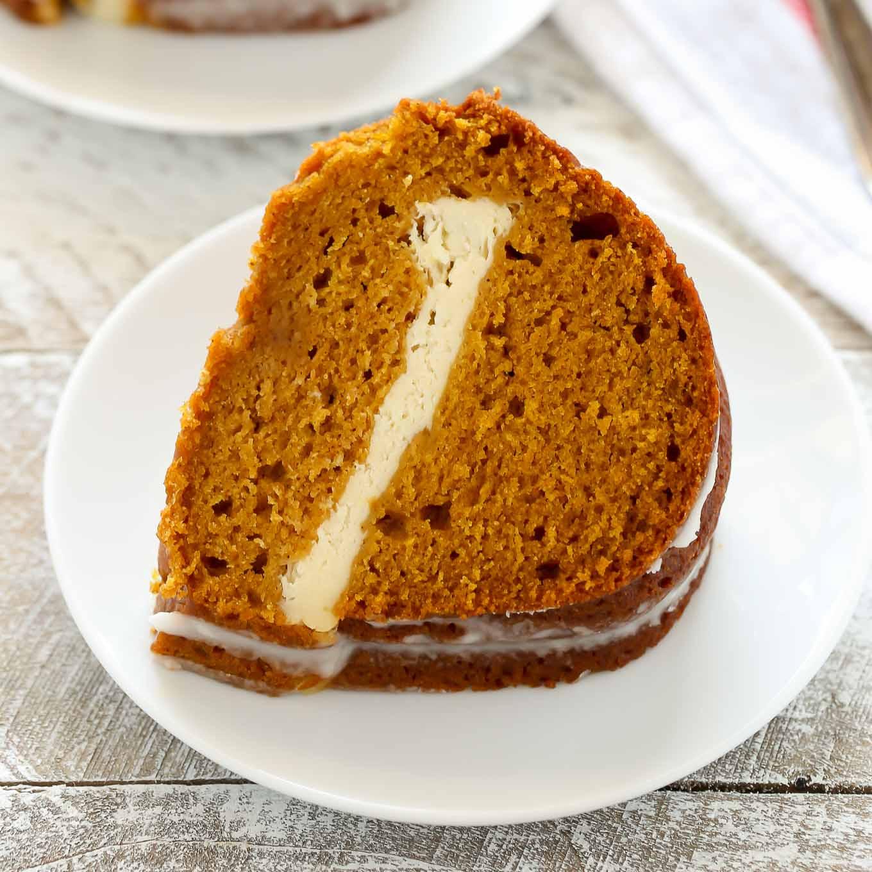 Pumpkin Cream Cheese Dessert  Pumpkin Cream Cheese Bundt Cake Live Well Bake ten