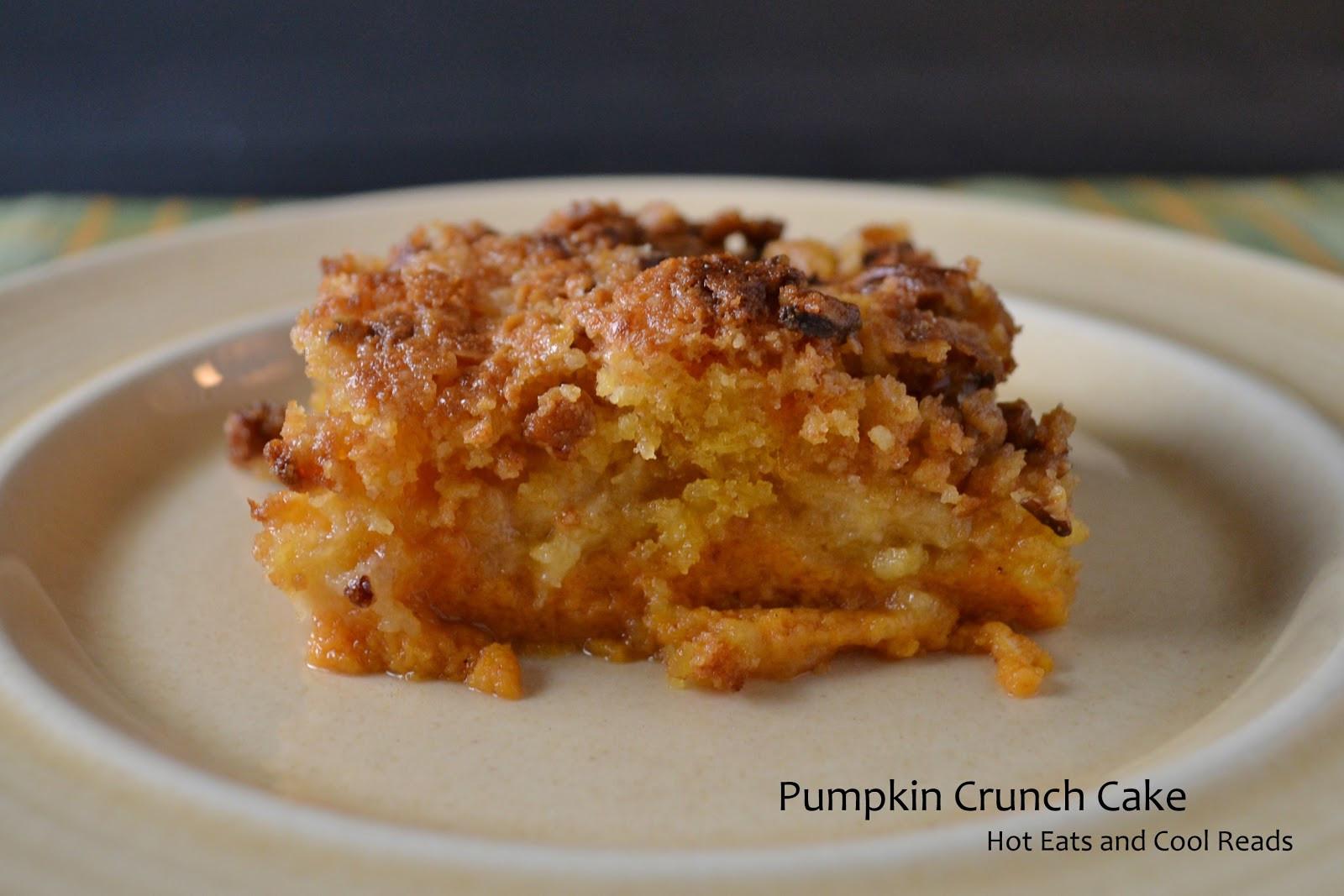 Pumpkin Crunch Cake Recipe  Hot Eats and Cool Reads Pumpkin Crunch Cake Recipe