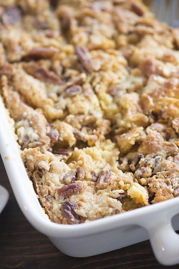 Pumpkin Crunch Cake Recipe  Pumpkin Crunch Cake — Buns In My Oven