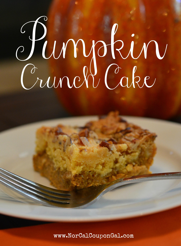 Pumpkin Crunch Cake Recipe  In The Kitchen With Mom Mondays – Pumpkin Crunch Cake