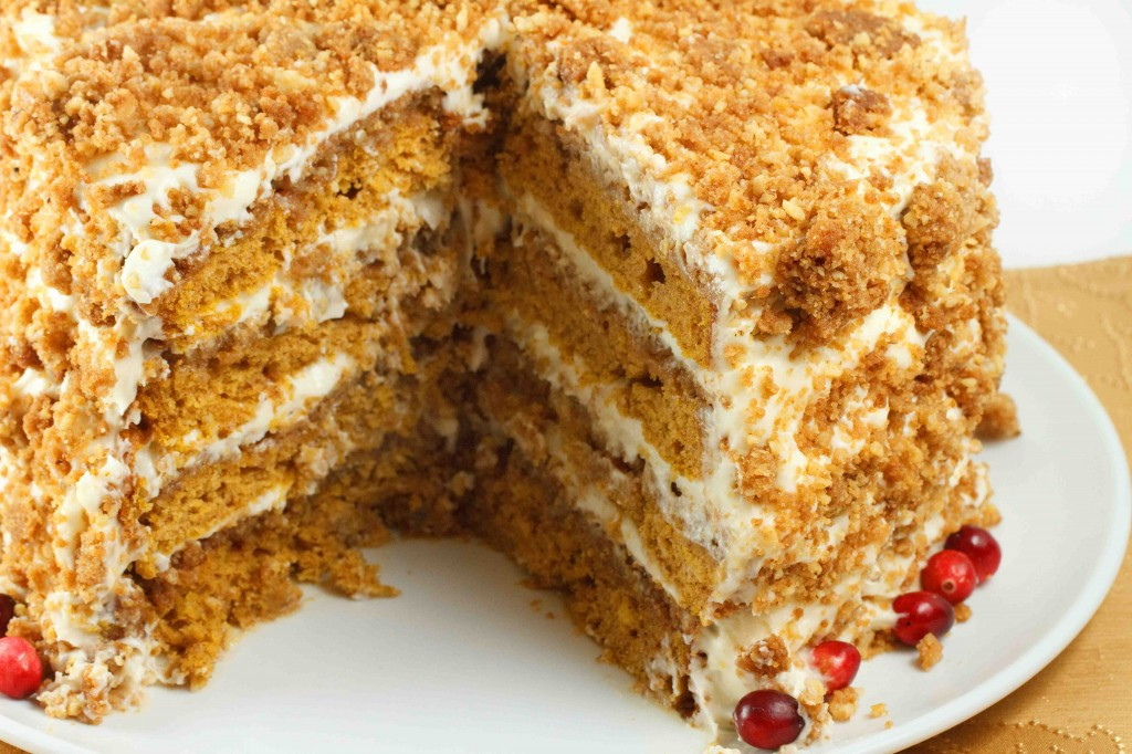 Pumpkin Crunch Cake Recipe  Pumpkin Crunch Cake – I Love To Cook