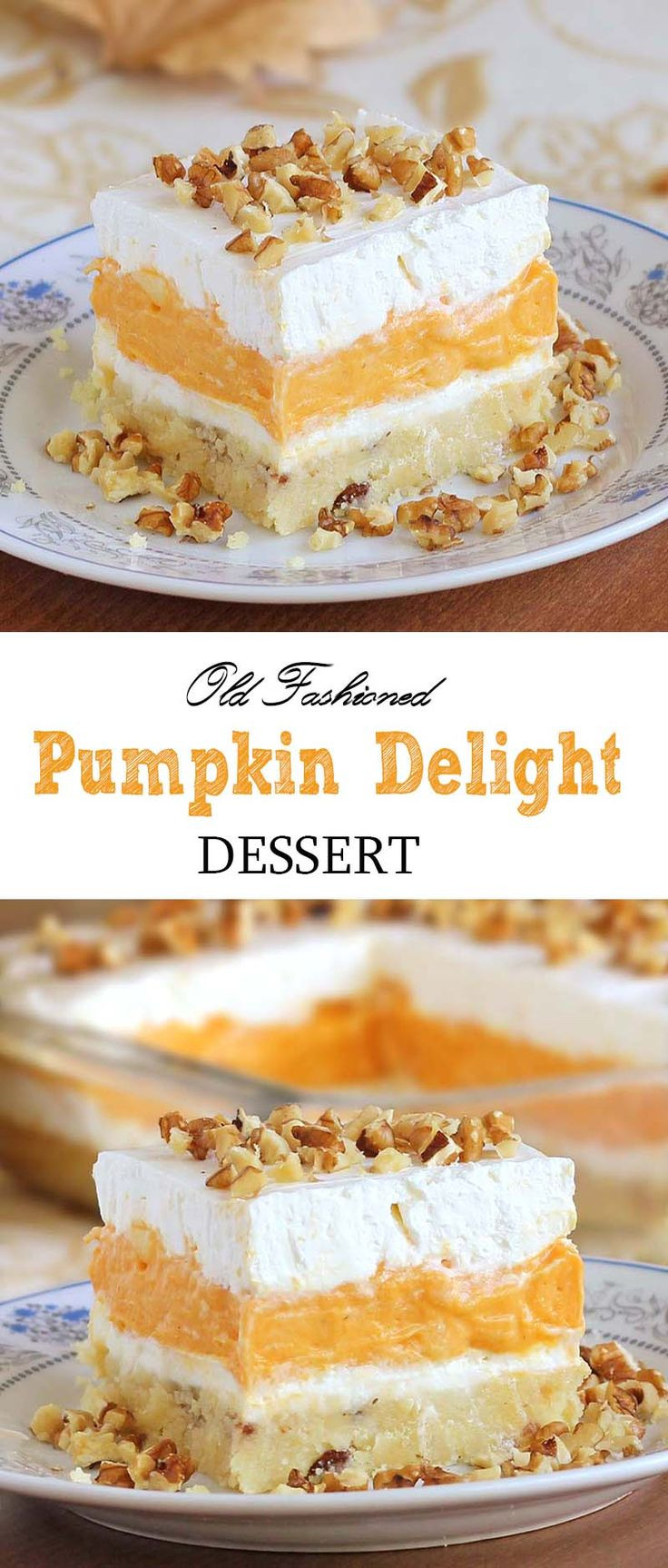Pumpkin Dessert Pinterest  17 Best ideas about Pumpkin Delight on Pinterest