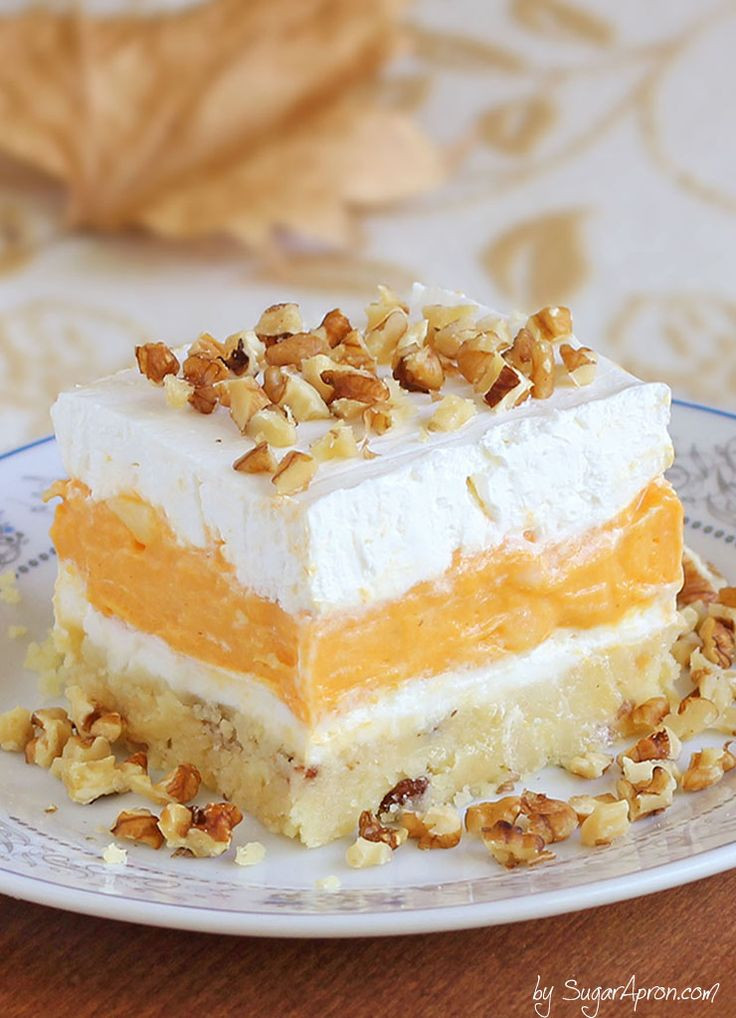 Pumpkin Dessert Pinterest  Best 25 Pumpkin delight ideas on Pinterest