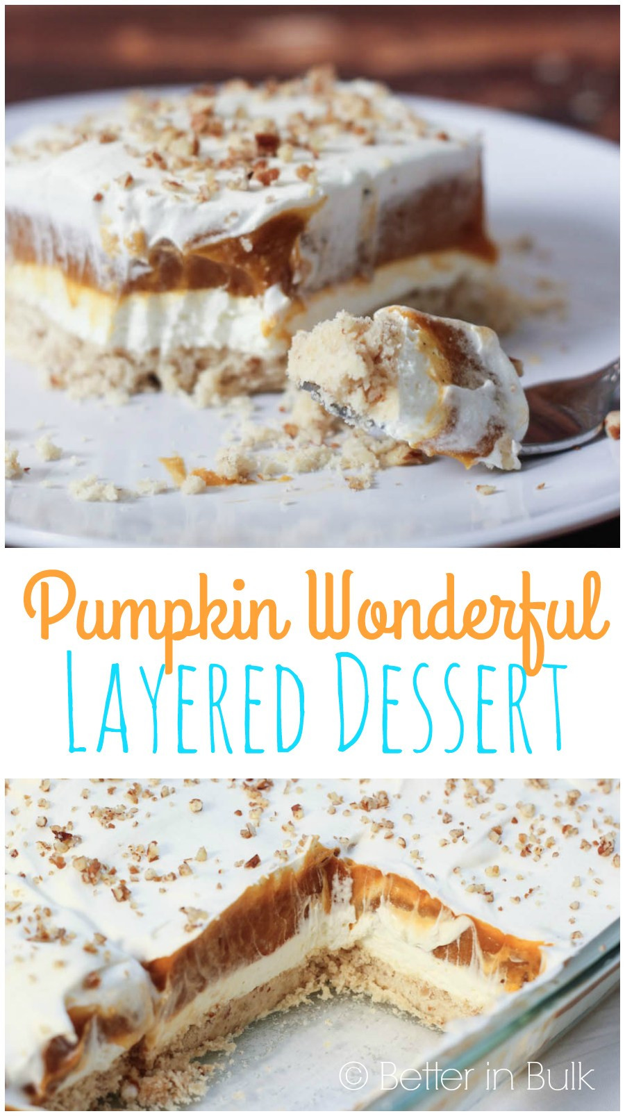 Pumpkin Dessert Pinterest  Pumpkin Wonderful Dessert Recipe