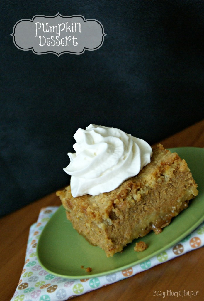 Pumpkin Dessert Pinterest  Pumpkin Dessert Busy Moms Helper