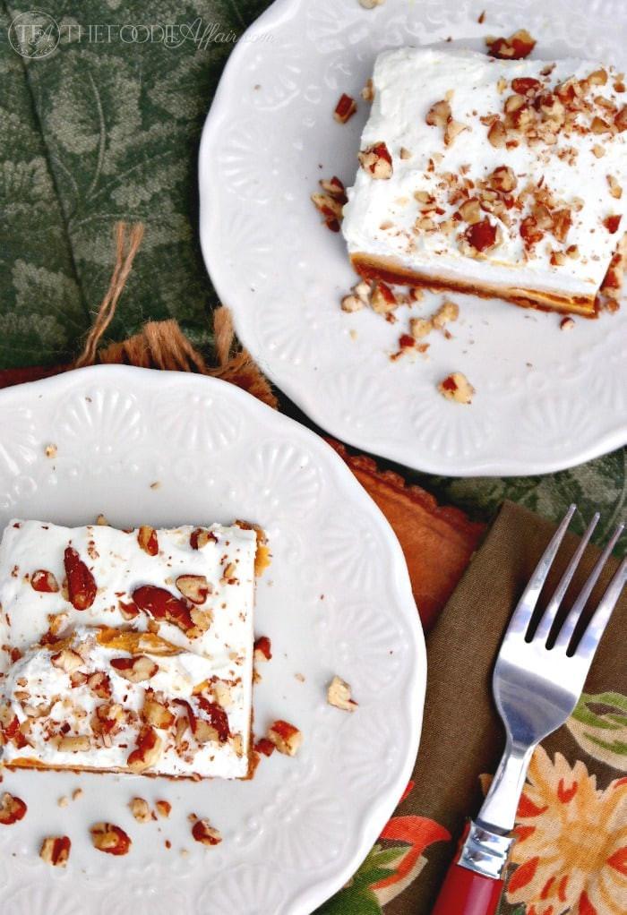 Pumpkin Dessert Pinterest  Pumpkin Delight Dessert