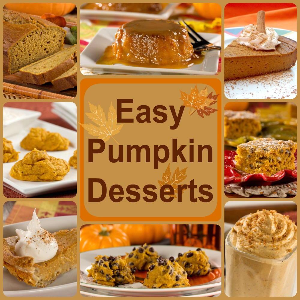Pumpkin Dessert Recipes Easy  Healthy Pumpkin Recipes 8 Easy Pumpkin Desserts