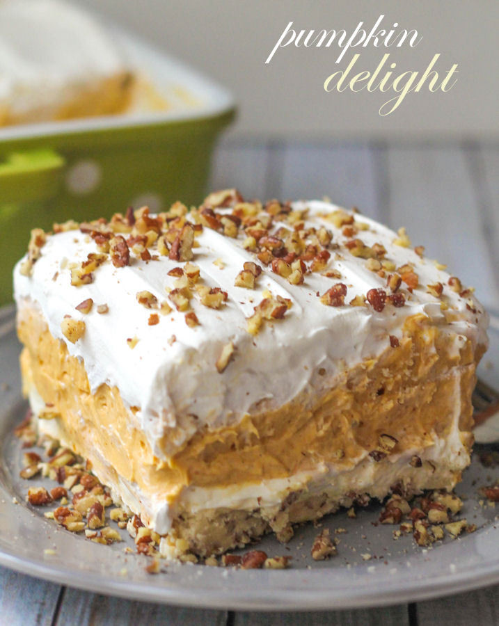 Pumpkin Desserts Recipes  BEST Pumpkin Delight