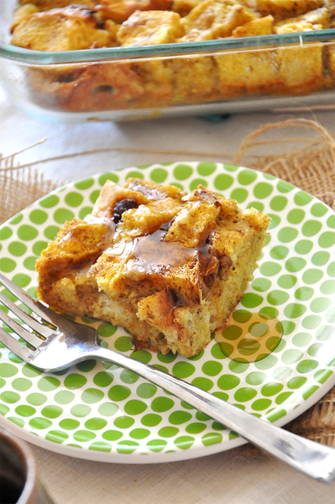 Pumpkin French Toast Casserole  7 make ahead Christmas brunch recipes for a no fuss all