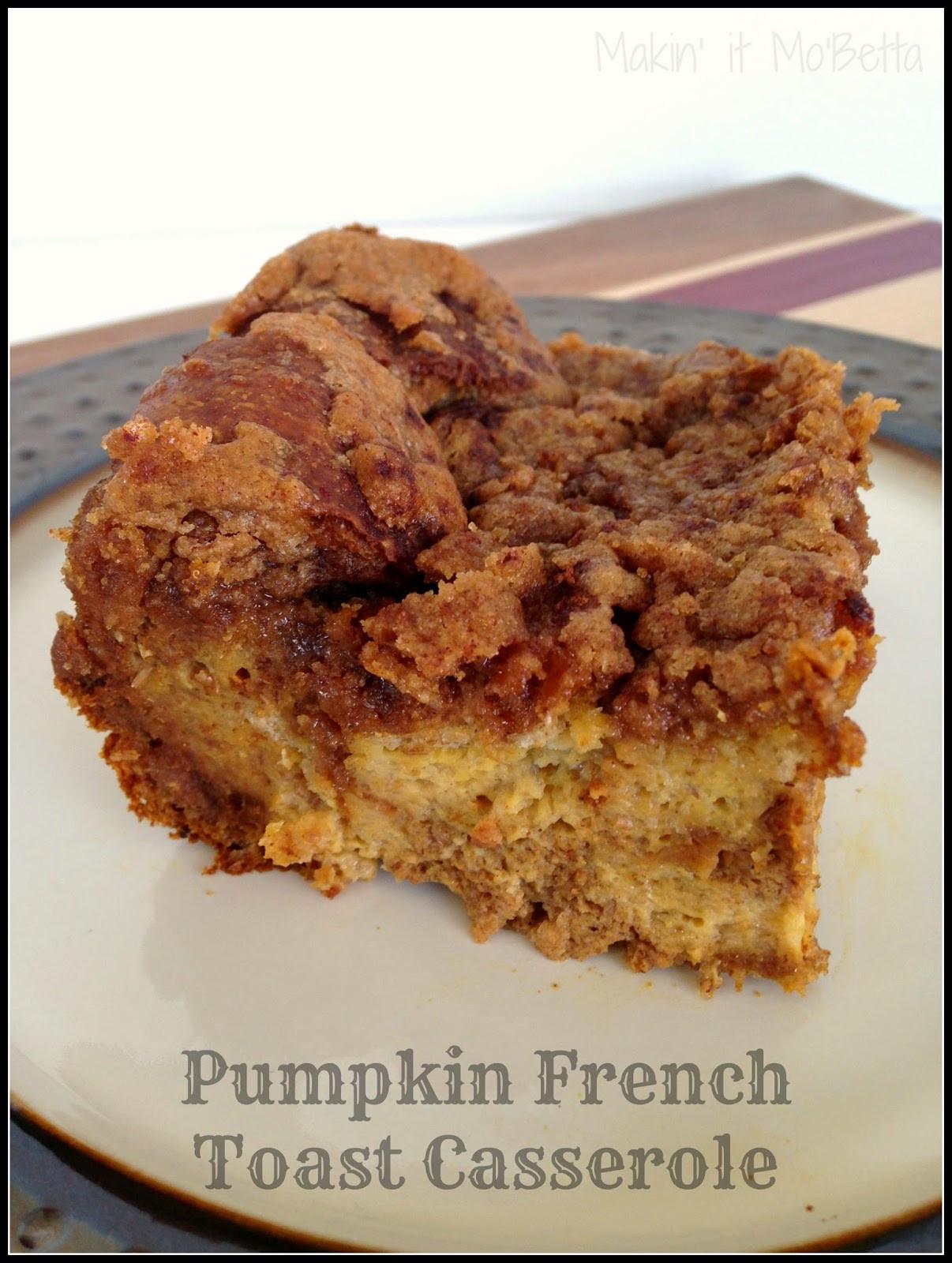 Pumpkin French Toast Casserole  Pumpkin French Toast Bake Recipe — Dishmaps