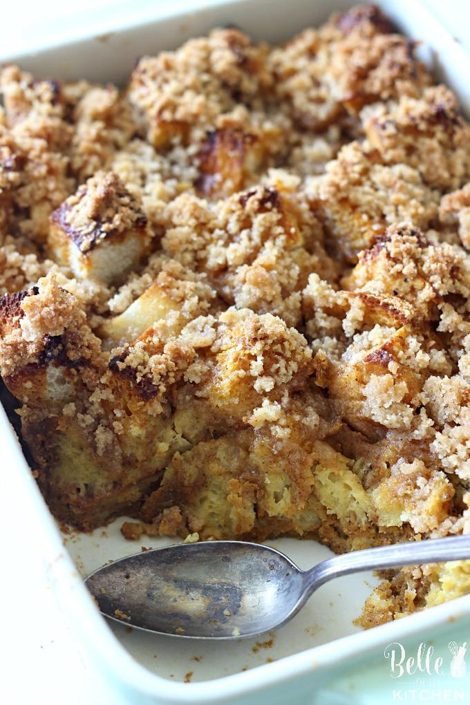 Pumpkin French Toast Casserole  Caramel Pumpkin French Toast Casserole Belle of the Kitchen