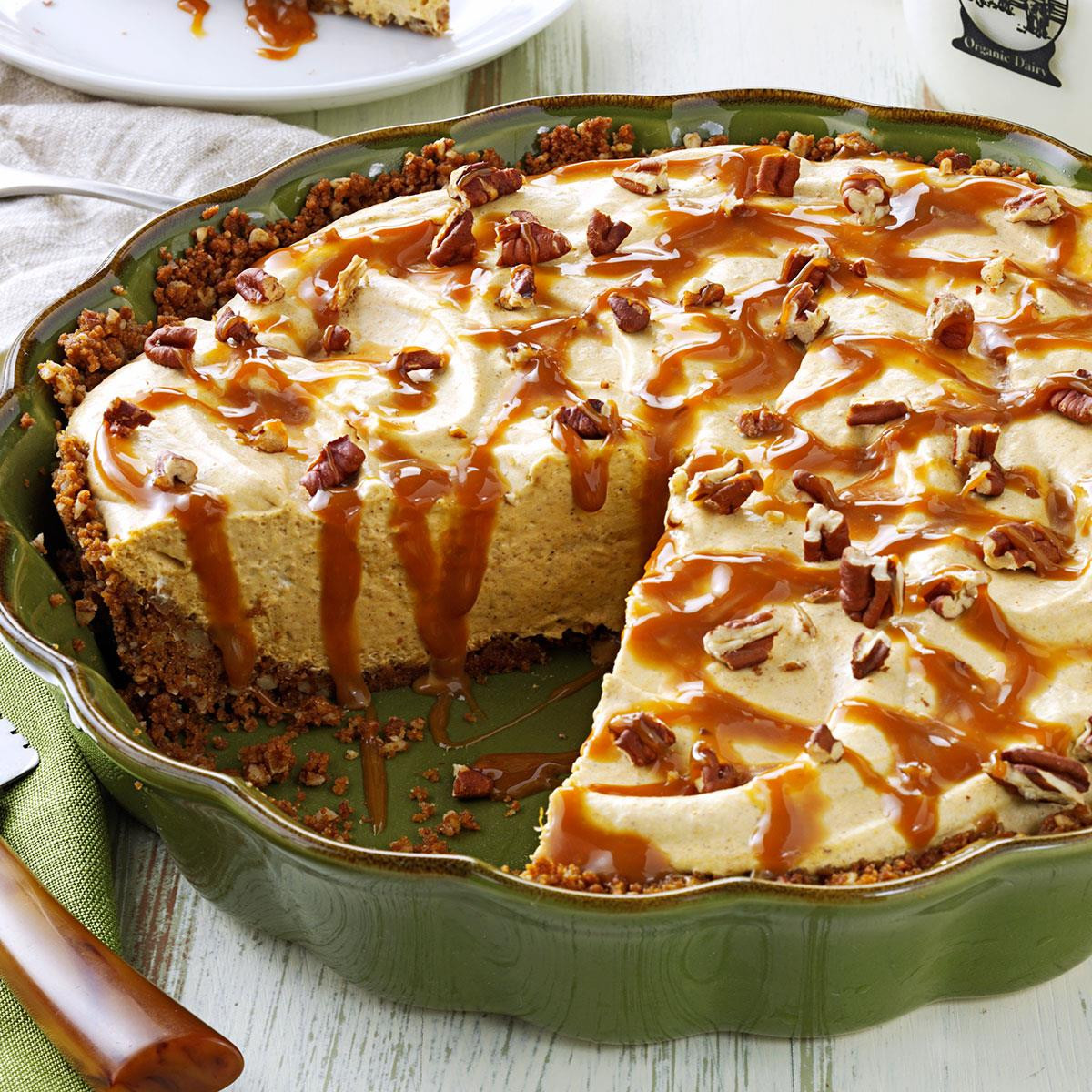 Pumpkin Mousse Pie  Pumpkin Mousse Pie with Gingersnap Crust Recipe