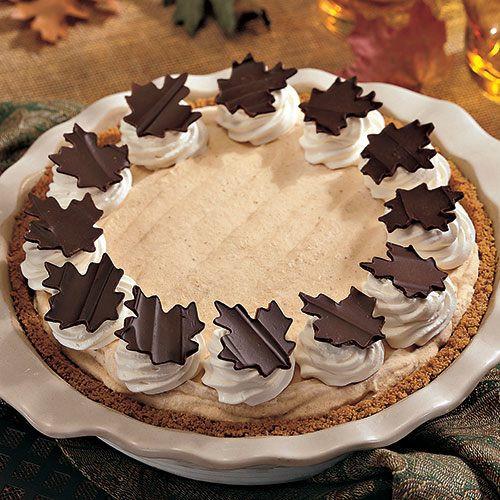 Pumpkin Mousse Pie  Frozen Pumpkin Mousse Pie Recipes