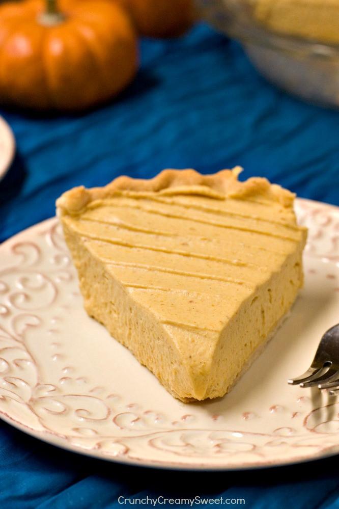 Pumpkin Mousse Pie  Pumpkin Mousse Pie Crunchy Creamy Sweet