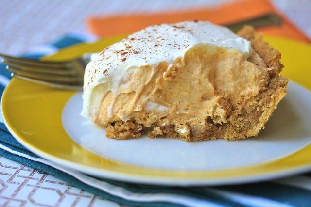 Pumpkin Mousse Pie  Your Southern Peach Low Fat Pumpkin Mousse Pie