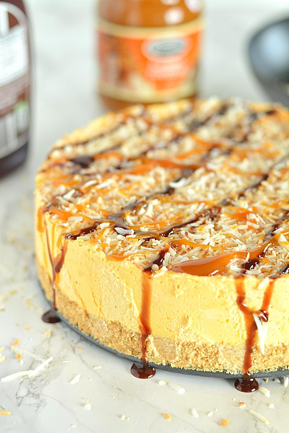 Pumpkin Mousse Pie  No Bake Coconut Pumpkin Mousse Pie Coconut Pumpkin Mousse Pie