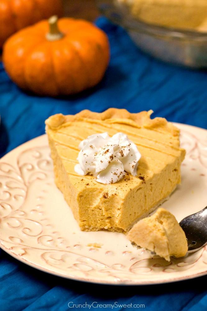 Pumpkin Mousse Pie  triple chocolate mousse cake