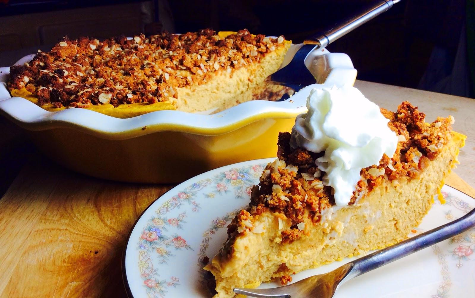 Pumpkin Mousse Pie  Food Fitness by Paige Pumpkin Mousse Pie