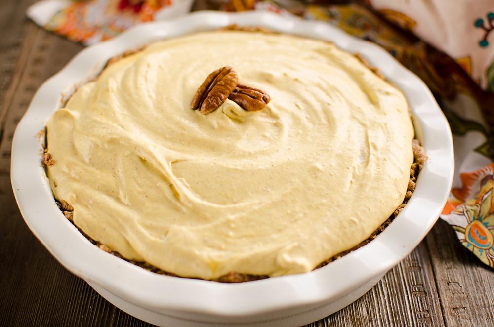 Pumpkin Mousse Pie  Pumpkin Mousse Pie