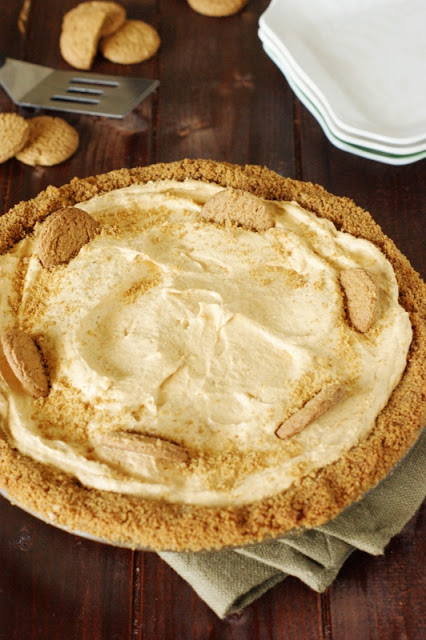 Pumpkin Mousse Pie  Creamy Pumpkin Mousse Pie with Gingersnap Crust