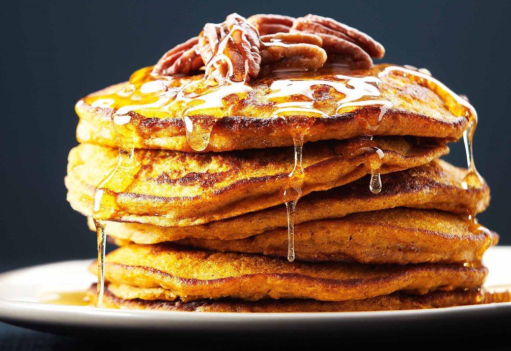 Pumpkin Pancakes Recipe  [Recipes] Embrace Autumn With Buttermilk Pumpkin Spice