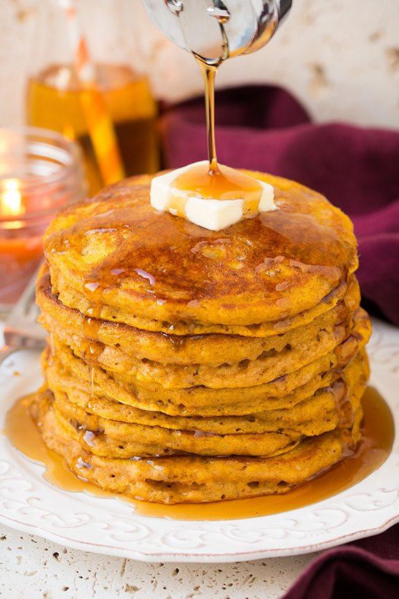 Pumpkin Pancakes Recipe  The Best Pumpkin Pancakes Recipes