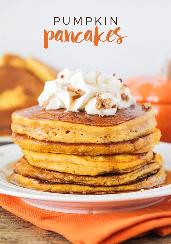 Pumpkin Pancakes Recipe  Best Pumpkin Pancakes Recipe