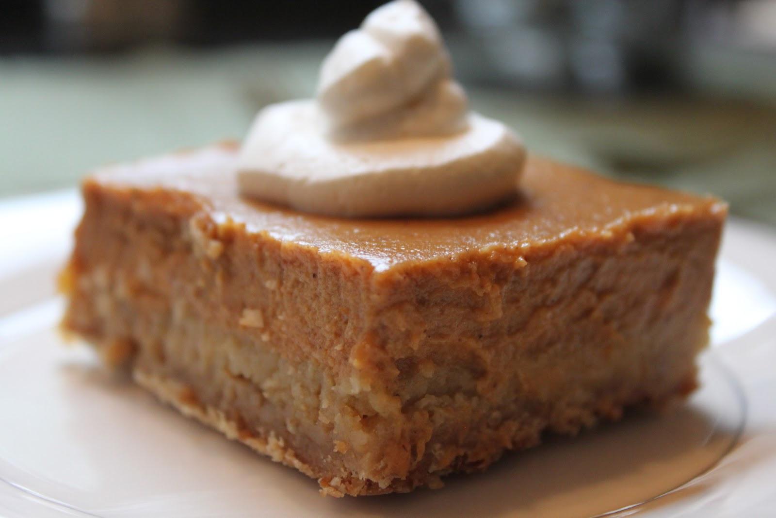 Pumpkin Pie Bars  Pumpkin Pie Squares Recipe — Dishmaps