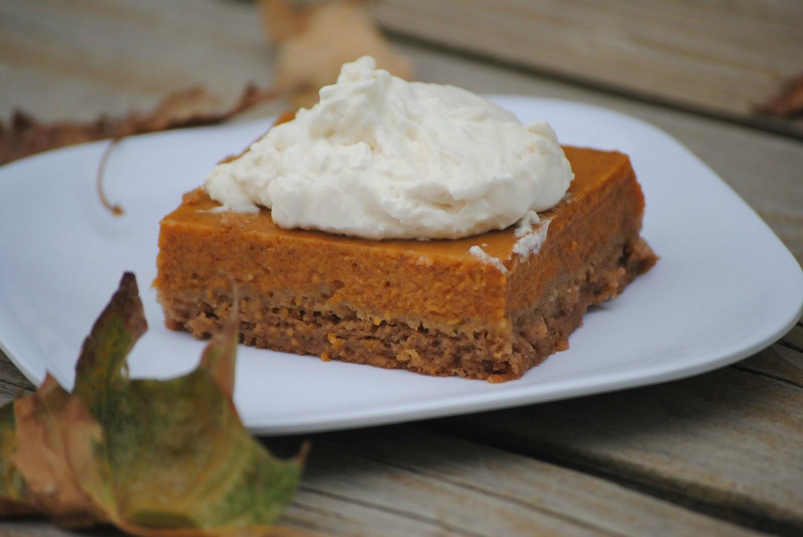 Pumpkin Pie Bars  The Farm Girl Recipes Pumpkin Pie Bars