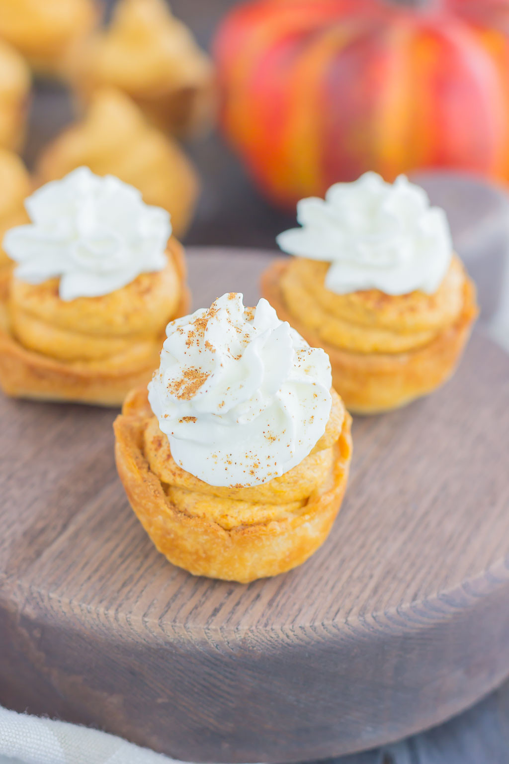 Pumpkin Pie Bite  Whipped Pumpkin Pie Bites Pumpkin N Spice