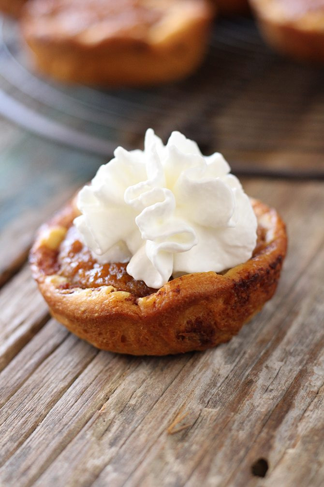 Pumpkin Pie Bite  Recipe Cinnamon roll pumpkin pie bites Alabama NewsCenter