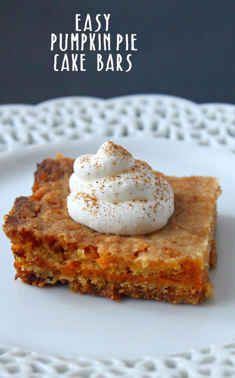 Pumpkin Pie Cake Recipe  pumpkin pie cake recipe
