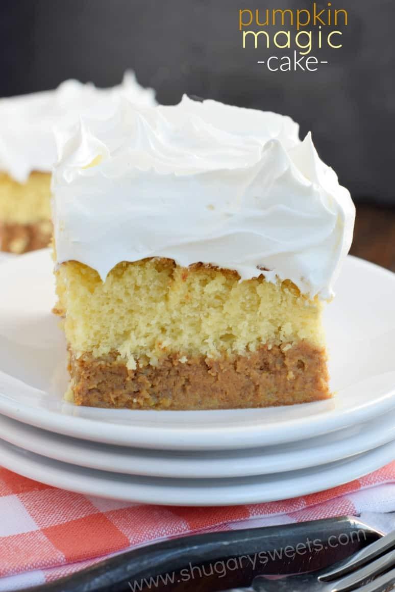 Pumpkin Pie Cake Recipe  pumpkin pie cake
