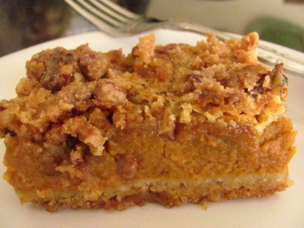 Pumpkin Pie Cake Recipe  Fall Pumpkin Pie Crumble Cake Best Life Ministries