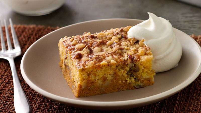 Pumpkin Pie Cake Recipe  Easy Pumpkin Pie Cake Recipe BettyCrocker